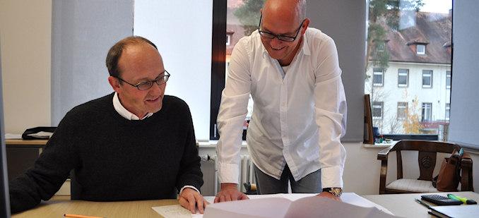 Peter Früh und Andreas Kreiner